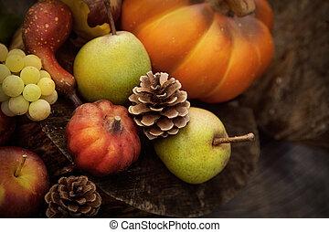 owoc, jesień