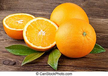 owoc, pomarańcze