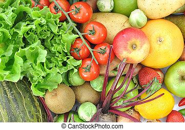 owoc, warzywa