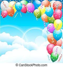 ozdoba, balony