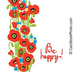 ozdoba, lato, kwiat