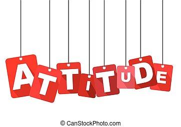 płaski, sieć, attitude., dobrze, to, wektor, projektować, tło, adapted, czerwony, design.