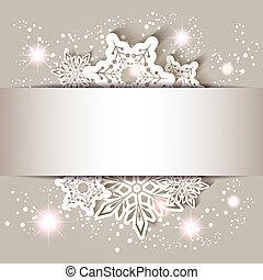 płatek śniegu, gwiazda, kartka na boże narodzenie, powitanie