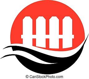 płot, logo
