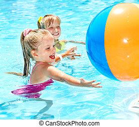 pływacki, pool., dzieci