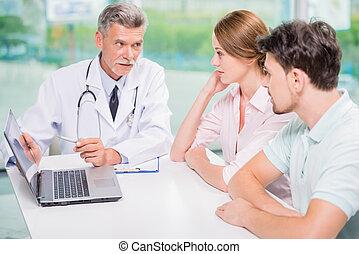pacjent, doktor