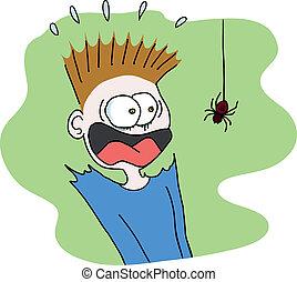 pająk, straszliwy