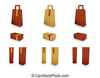 pakowanie, zbiór, dar