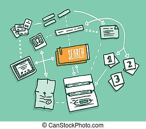 palcowa informacja, dane, algorithm, zebranie, rewizja