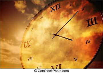 palczasto, liczebnik, rodzony, rzymski, zegar
