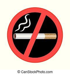 palenie znaczą, czarne tło, nie