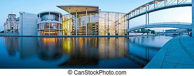 panorama, berlin, reichstagufer