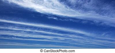 panoramiczny, chmura