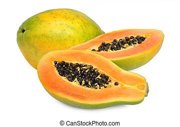 papaya, świeży
