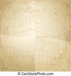 papier, rocznik wina, stary, tło