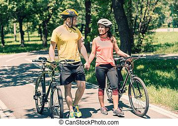 para, bicycles