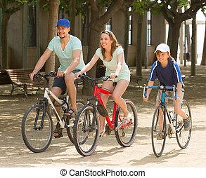 para, bicycles, syn