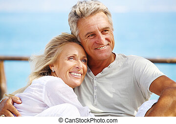 para, dojrzały, szczęśliwy