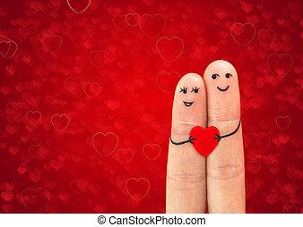 para, miłość, szczęśliwy