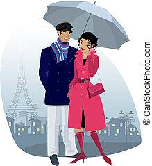 para, parasol