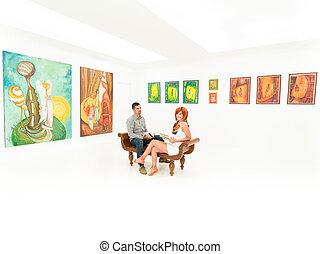 para, sztuka galeria