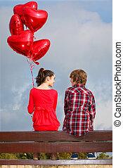 para, valentines dzień