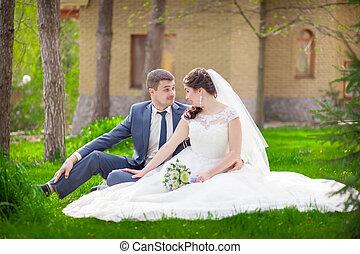 park, ślub