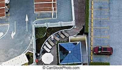 parking, wóz