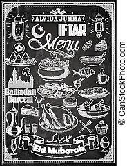 partia, iftar