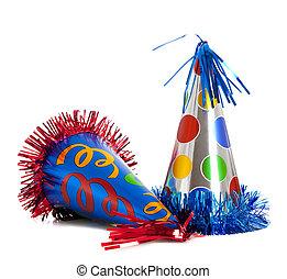 partyjne kapelusze, urodziny