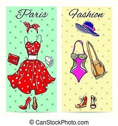 paryż, bilety, fason, odzież
