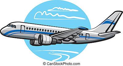 pasażer, samolot