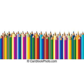 pastele kolorują