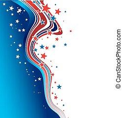 patriotyczny, dzień, tło, niezależność