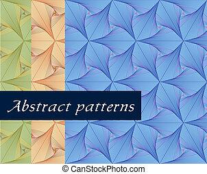 pattern., tapeta, seamless, wektor