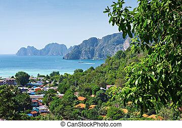 phuket, motyw morski, tropikalny