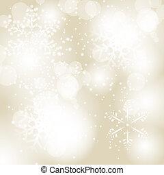 piękno, abstrakcyjny, ilustracja, tło., wektor, rok, nowy, boże narodzenie