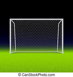piłka nożna, czarnoskóry, gol