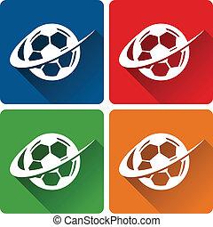 piłka nożna, ikony