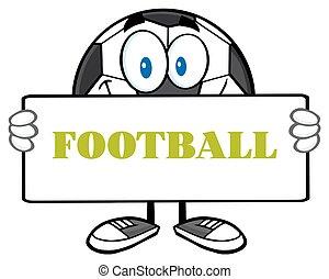 piłka, piłka nożna, dzierżawa, znak
