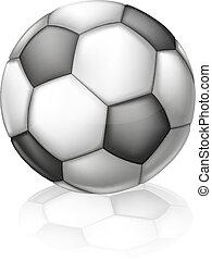 piłka, piłka nożna, ilustracja