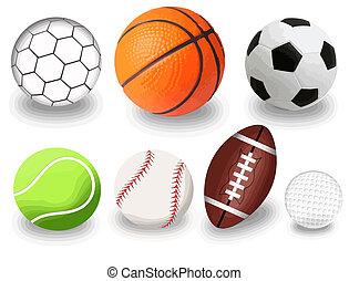 piłki, sport