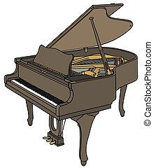 piano, wielki