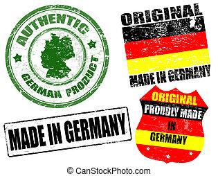 pieczęcie, robiony, niemcy