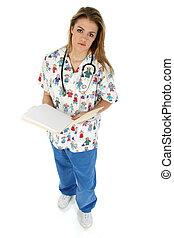pielęgnować, pediatryczny, zagajniki