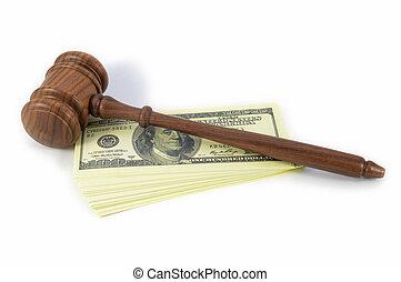 pieniądze, koszt, prawny, wyjścia
