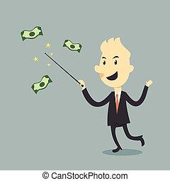 pieniądze, magia