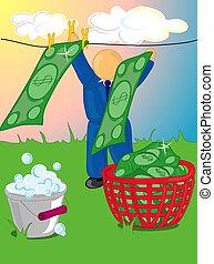 pieniądze pralnictwo