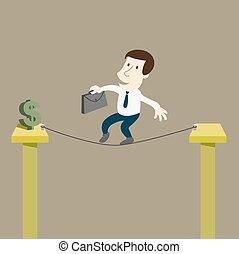 pieniądze, ryzyko, handlowiec