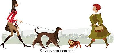 piesze psy